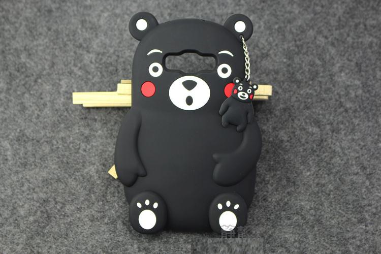 """Samsung A5 A500 2015  оригинальный противоударный чехол бампер 3D детский SOFT TPU  """" BEAR"""