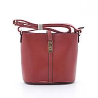 Женская сумочка через плечо L.Pigeon T-013 red