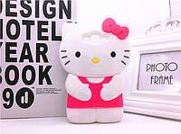 "SAMSUNG J7 J700 2015  оригинальный противоударный чехол бампер 3D детский SOFT TPU "" HELLO KITTY"