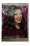 Хна для волос Кавери, Натуральный черный в основе 9 трав / 10 g