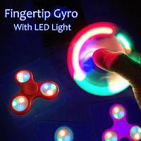 Светящийся спиннер, Светодиодный LED Spinner - игрушка антистресс, Hand spinner, Finger spinner, Ск