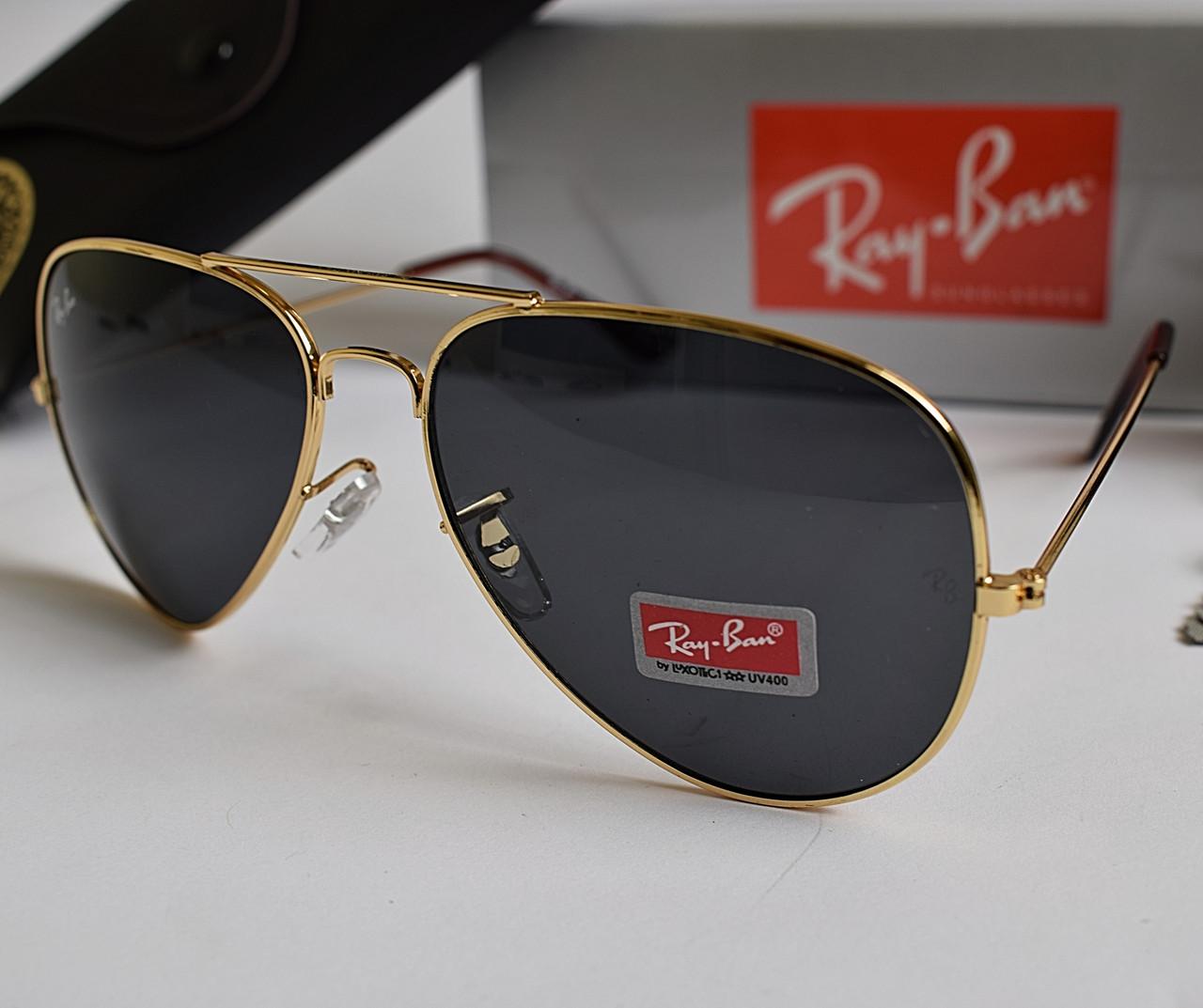 Очки Ray Ban черные (replica)