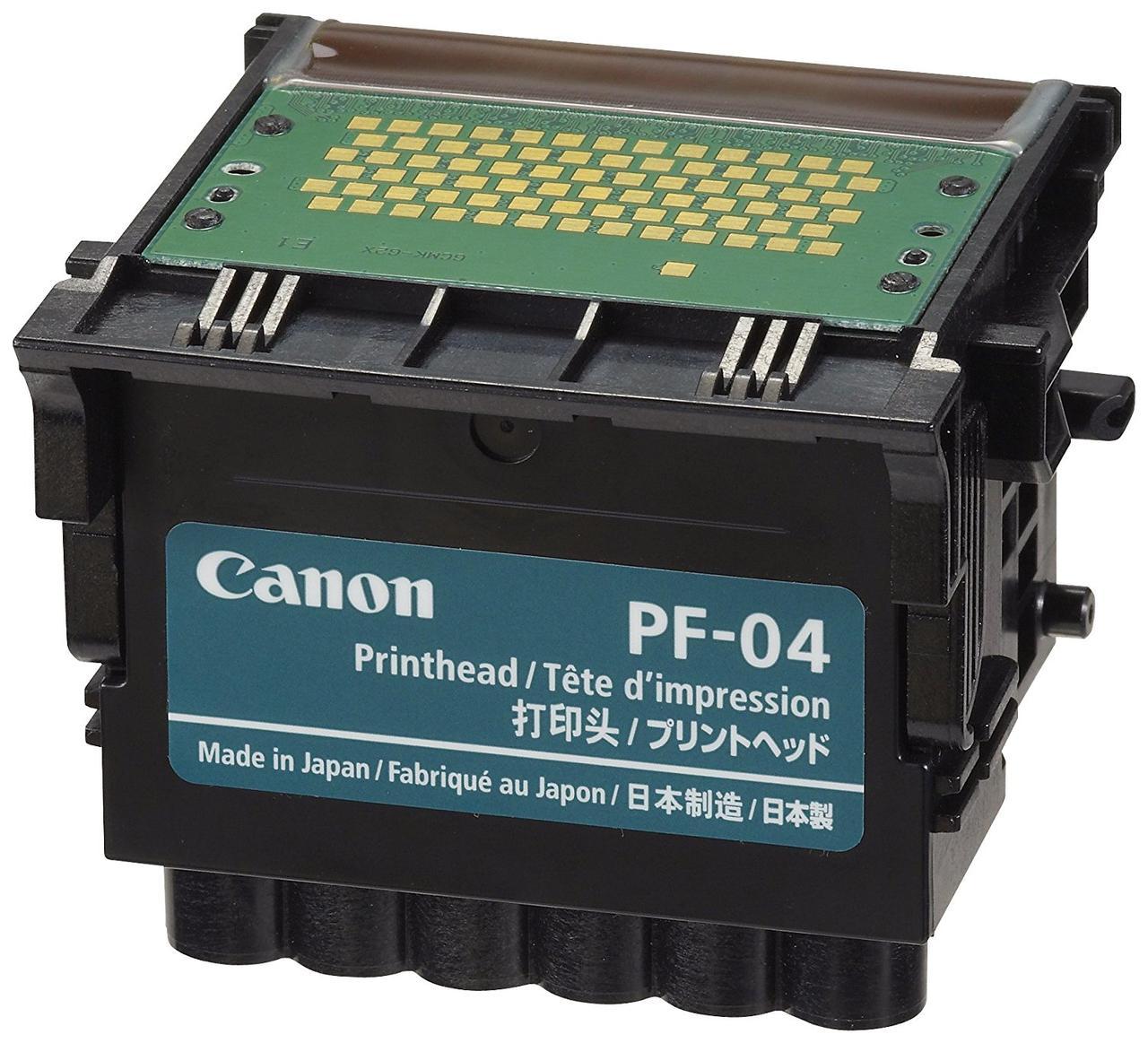 Печатающая головка Canon PF-04 для плоттеров Canon iPF670/iPF750/iPF770/iPF830