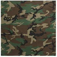 "Бандана Rothco 27"" Bandana - Woodland Camouflage"