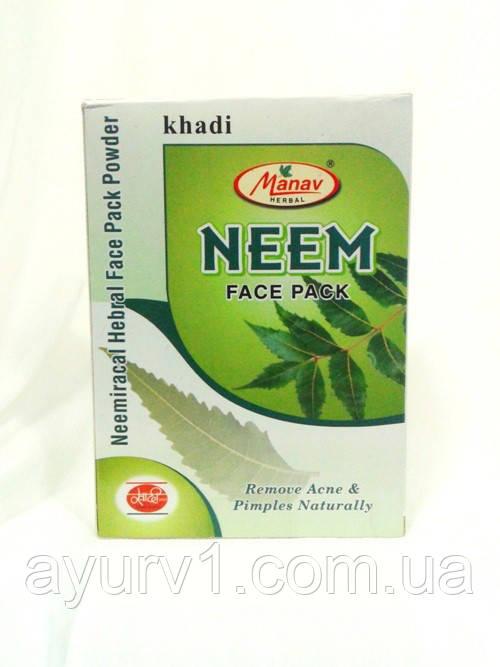 Маска для лица, Ним / Neem Face Pack, Khadi / 125 г