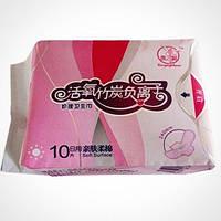Прокладки женские гигиенические Хуэй Чжимей дневные 10 шт
