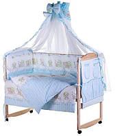 Комплект детского постельного белья в кроватку «Lux» 60623 Qvatro