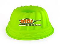 Силиконовая форма для выпечки кекса 22х10см круглая Empire (салатовый цвет)