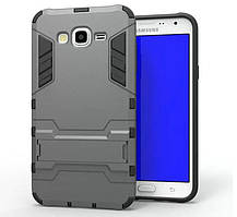 Чехол Iron для Samsung J7 Neo J701F/DS бронированный бампер Gray