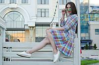 Платье-рубашка вуаль , фото 1