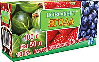 Удобрение водорастворимое для Ягодных 100 г, Новоферт