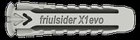 """Дюбель универсальный нейлоновый X1 """"Friulsider"""", 8x40"""