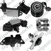 Детали генератора Renault Trafic / Opel Vivaro / Nissan Primastar