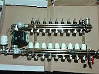 Коллектор для тёплого пола ROSSINI на 11 выходов
