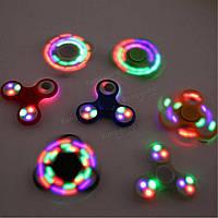 Светящийся спиннер - оригинальный подарок, Светодиодный LED Spinner - игрушка антистресс, Скидки