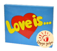 "Набор шоколадный XL ""Love is"" 20 шт, фото 1"