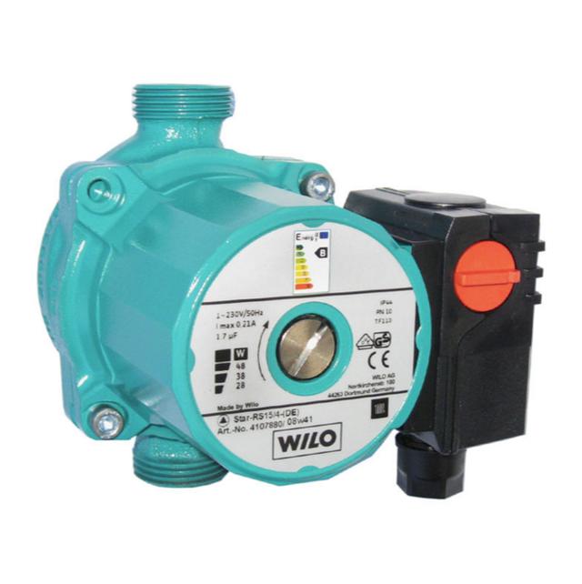 Циркуляционный насос для систем отопления Wilo Star–RS 15/4–130