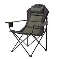 Кресло Мастер Карп д. 16 мм зелено-черный