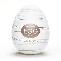 Мастурбатор Tenga Egg Silky (Нежный Шелк), 8х5 см.