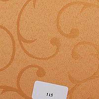 Рулонные шторы Ткань Акант 115 Светло-оранжевый