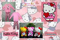 """Пижама детская """"Hello Kitty с розовым сердечком""""."""
