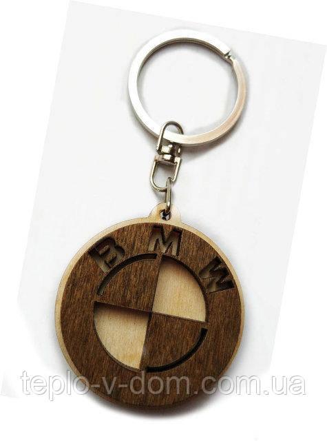 Авто-брелок деревянный BMW
