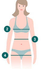 Таблицы размеров одежды