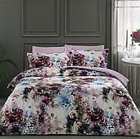 Двуспальное евро постельное белье TAC Carolyn Damson Сатин-Digital