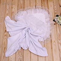 Крестильное полотенце с капюшоном для новорожденных Любовь