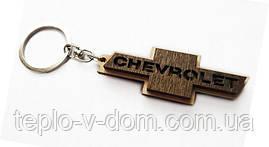 Авто-брелок деревянный Chevrolet (10шт)