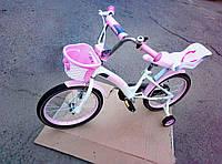 """Детский двухколесный  велосипед KIDS BIKE CROSSER 16"""""""