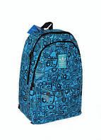 Универсальный рюкзак для школы и прогулок Adidas синий
