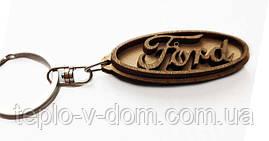 Авто-брелок деревянный Ford (10шт)