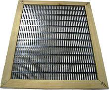 Роздільна решітка 10 рамкова металева