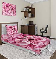 """Фото покрывало """"Розовые розы"""" (2,2м*2,0м)"""