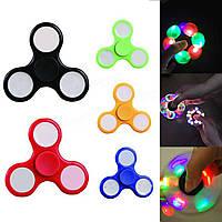 Светящийся спиннер, Светодиодный LED Spinner - игрушка антистресс, Hand spinner, Finger spinner, Акция