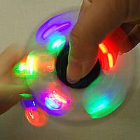 Светящийся спиннер - оригинальный подарок, Светодиодный LED Spinner - игрушка антистресс, Хит продаж