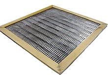 Роздільна решітка 12 рамкова металева