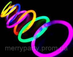 Неоновый браслет Glow Stick 5*200 мм 1 шт.
