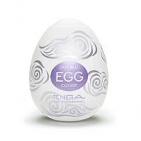 Мастурбатор Tenga Egg Cloudy (Облачный), 8х5 см.