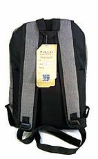 Универсальный рюкзак для школы и прогулок Vans серый, фото 2