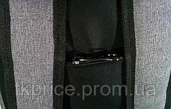 Универсальный рюкзак для школы и прогулок Vans серый, фото 3