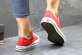 Женские Кеды Converse красные , фото 2