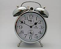 Механические стальные часы PACIFIC с будильником золотистые (классика жанра)