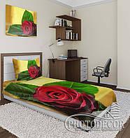 """Фото покрывало """"Красная Роза"""" (2,1м*1,7м)"""