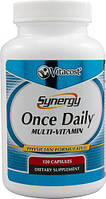 Vitacost Synergy Once Daily  витамины, минералы, экстракты 120 капсул