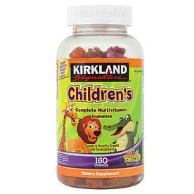 Детские мультивитамины - Kirkland children's, 160шт.