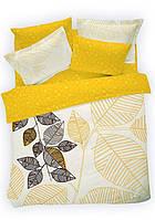 Двуспальное евро постельное белье TAC Sonbahar Сатин-Digital