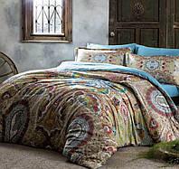 Двуспальное евро постельное белье TAC Paisley Сатин-Digital