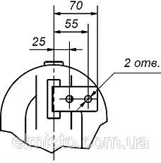 Габаритные, установочные, присоединительные размеры и масса трансформаторов тока ТПЛУ 10